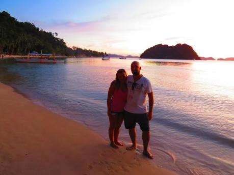 couple travel bloggers - Steve and Sabina - Sunset Travellers