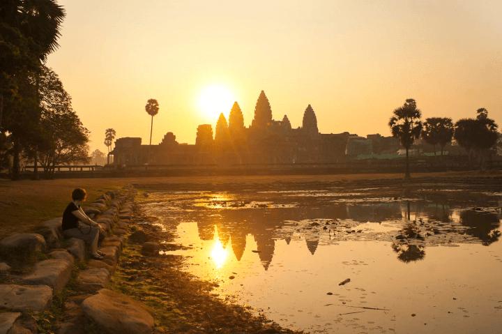 Angkor Wat Cambodia - Best Sunset Locations Around The World