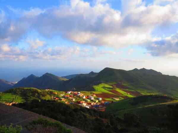 Up in the mountains at Santa Cruz de Tenerife