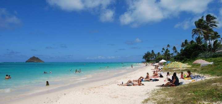 Lanikai beach best American beach