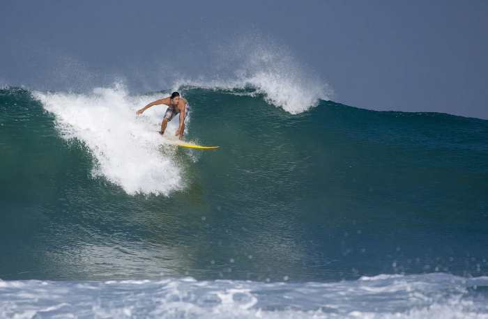 Take a surfing lesson in Popoyo - Top things to do in Nicaragua.
