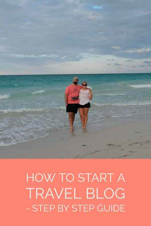 How to start a travel blog a step by step guide.