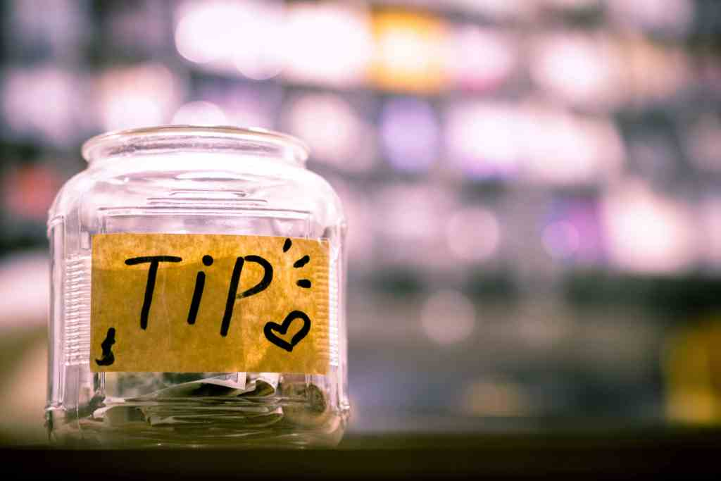 Tipping is very common in Toronto.