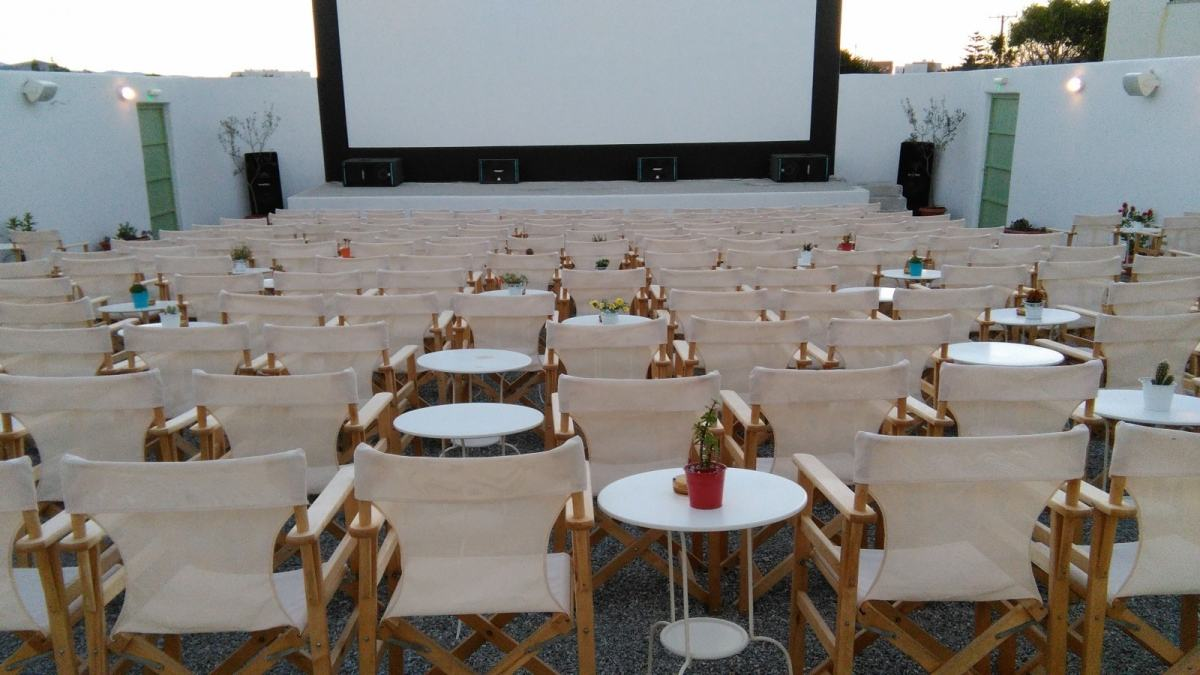 Things To Do In Naxos - 10 Amazing Places You Need To Explore - Outdoor cinema in Naxos