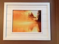 Framed Fiery Sunrise