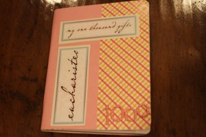 My gratitude journal's been gathering dust. Getting it out this week!