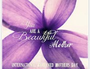 International Bereaved Mother's Day 2014