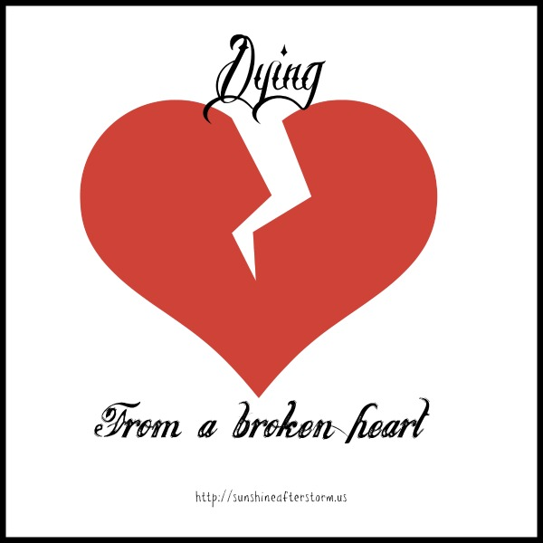 dying from a broken heart