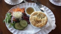 Chicken Pie Lunch