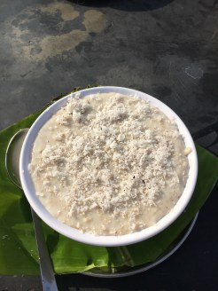 Coconut & banana porridge