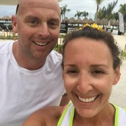My running partner one morning 😍