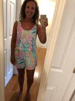 My first cover-up romper