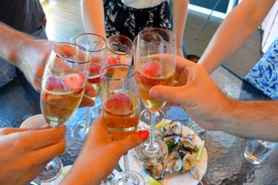 Mooloolaba champagne