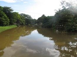 The Siem Reap River.