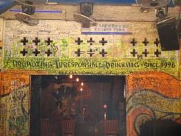 Says it all, really. On pub street, Siem Reap.