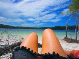 Lake Mackenzie on Fraser Island