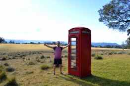 In case you need to make a call at Spicers Peak Lodge