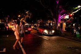 James Street after dark