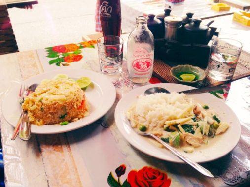 Delicious Thai cuisine in Bangkok