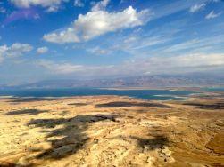 The Dead Sea from Masada