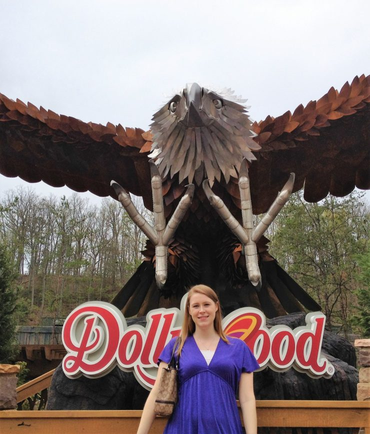 wild eagle dollywood | sunshineandholly.com