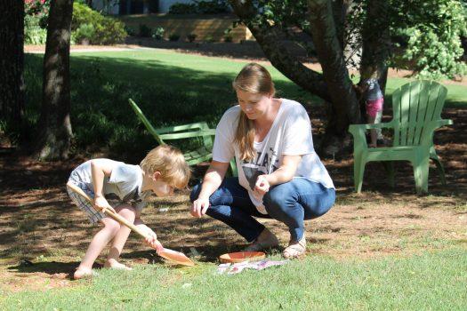 Rustic Fairy Garden Kid's Activity | sunshineandholly.com