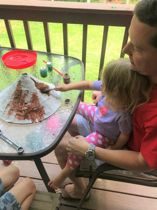Fun Volcano Kid's Activity | sunshineandholly.com