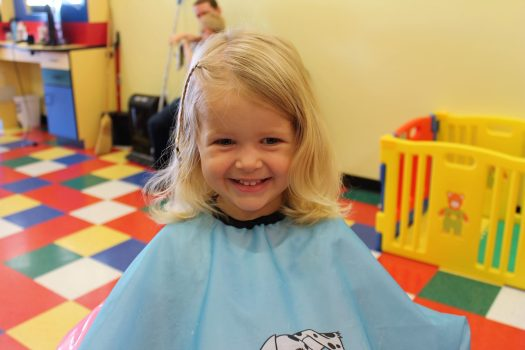 3 Tips for Your Kid's First Haircut | sunshineandholly.com