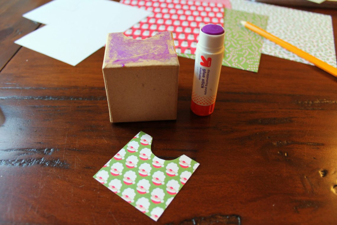 Easy DIY Advent Calendar | sunshineandholly.com | christmas crafts