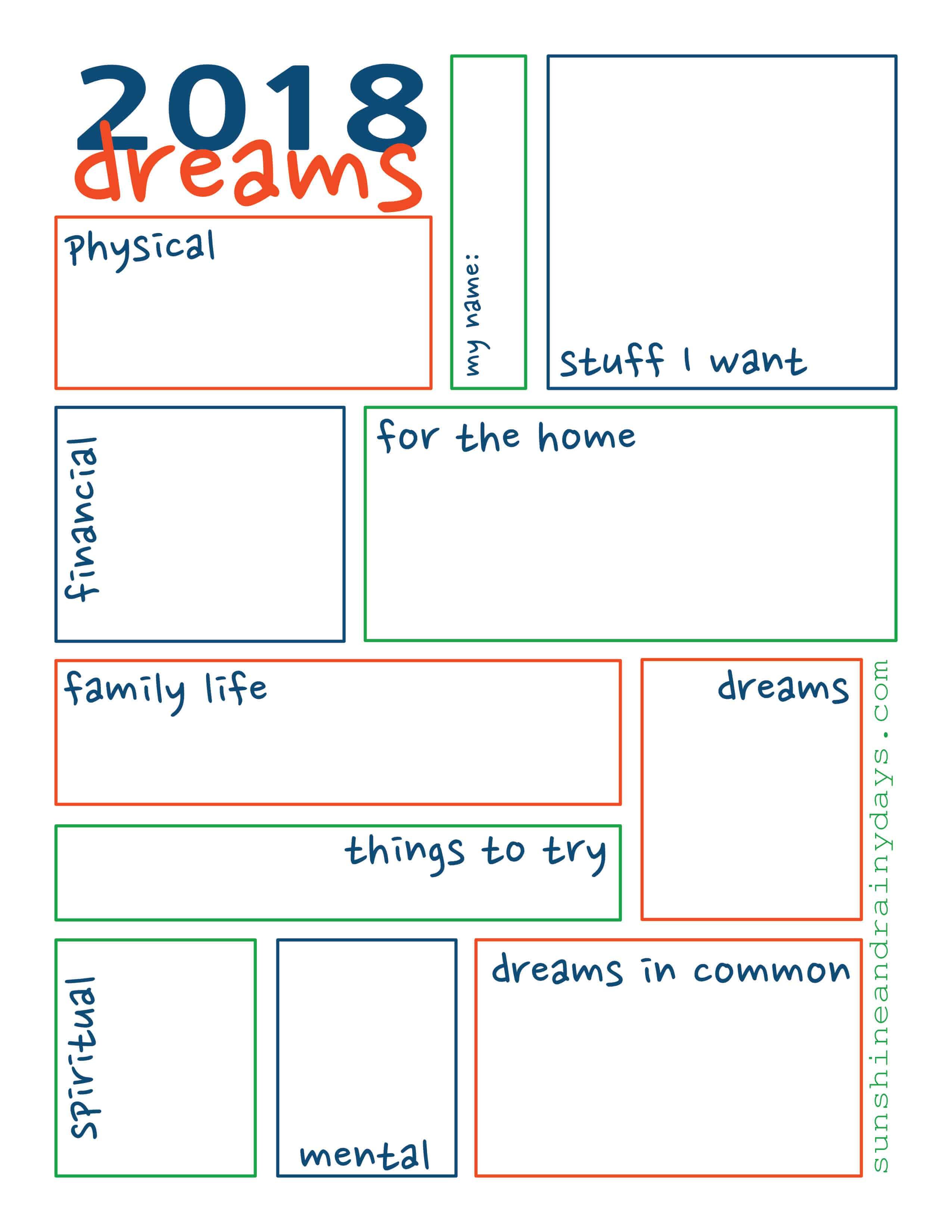 Dream Sheet