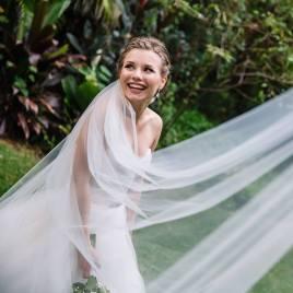 Bride in Maleny
