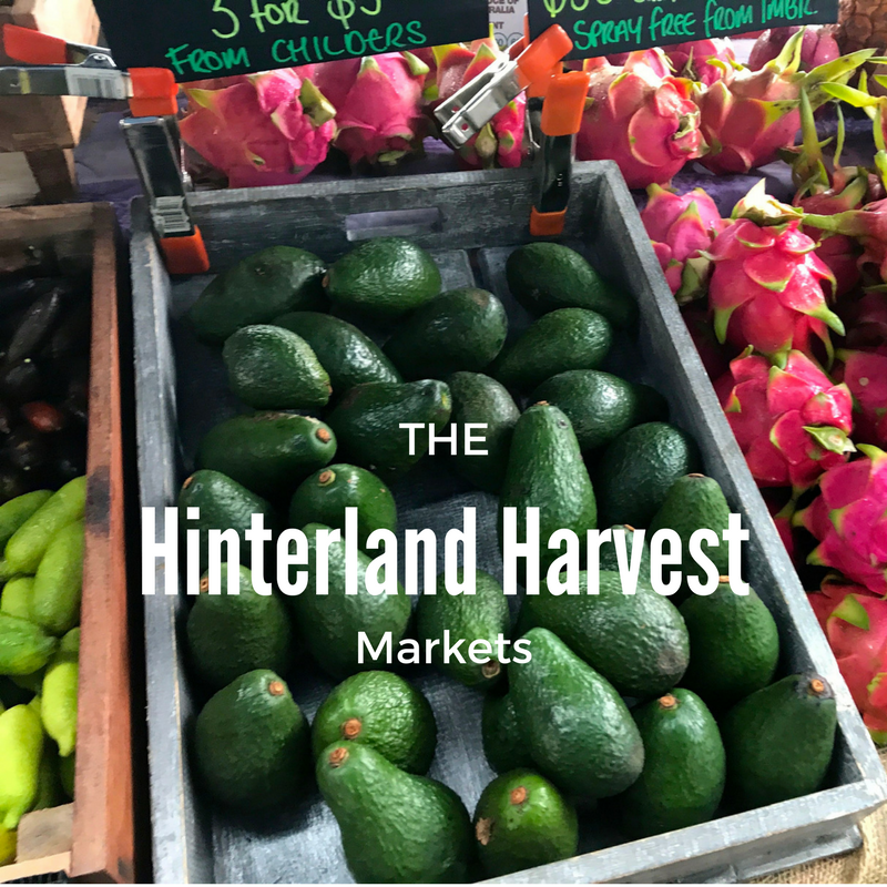 Hinterland Harvest Market – and 3 ways with ginger…and peanut butter…