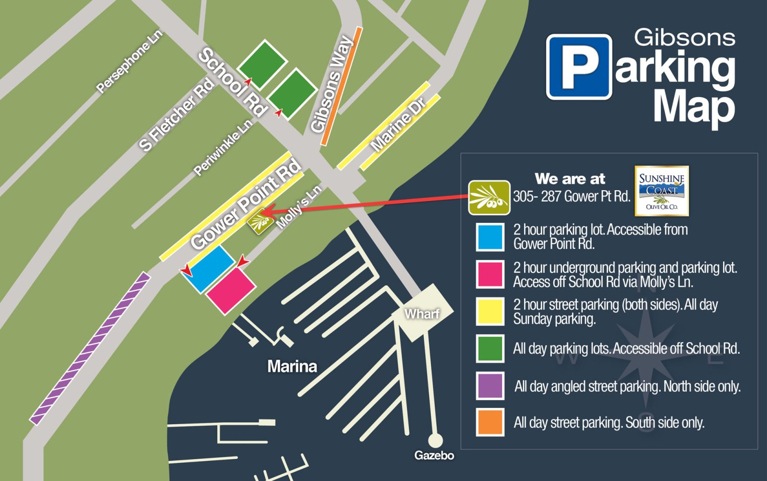 Gibson's_Parking_Map_