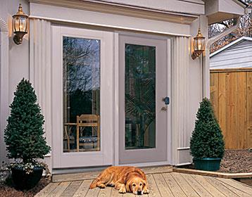 therma tru steel patio door sunshine