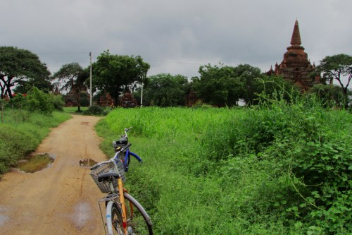 Biking in Bagan