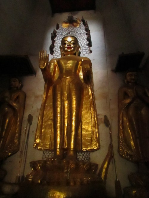 Buddha in Stuppa