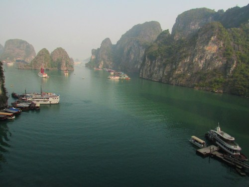 Ha Long Bay from the Cave