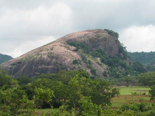 Usman Dam.Holy Rock