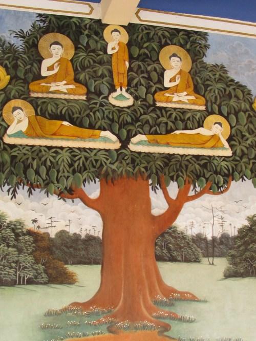 Buddha & Bodhi Tree Painting