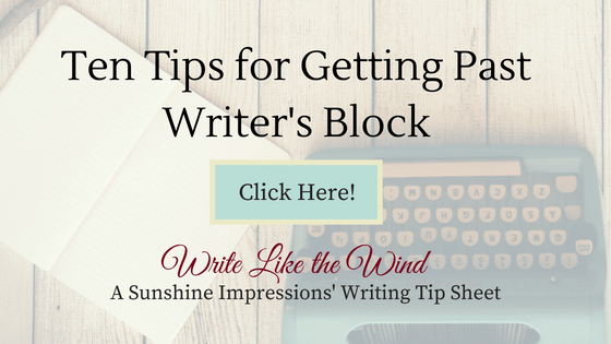 Ten Tips for Writer's Block