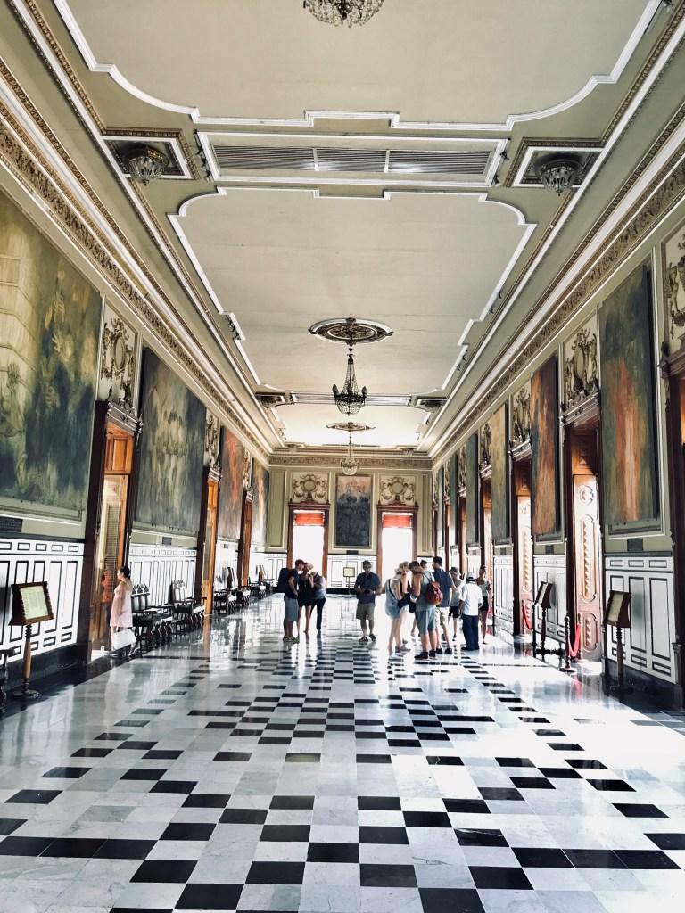 Governor's Palace Art Hall
