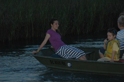 Me, on the bow, my favorite place! =P