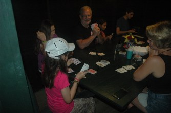 Game 2, Me, Faith, Sondra, and John