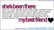 my best friend. . . .