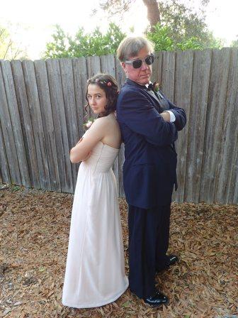 My Dad the gangsta! :P