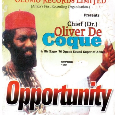 Oliver de coque _ Opportunity - mp3 || Sunshine Music NG