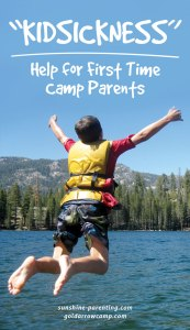 Kidsickness: Help for First-Time Camp Parents