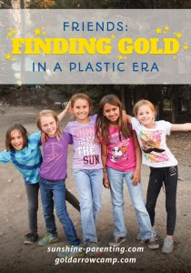 Friends: Finding Gold in a Plastic Era