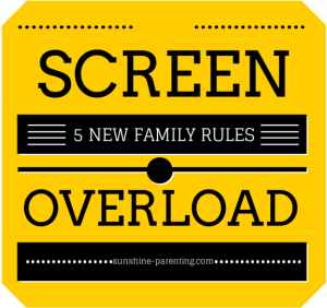 SCREEN OVERLOAD: 5 New Family Rules