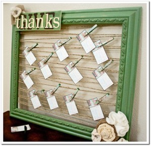gratitude board